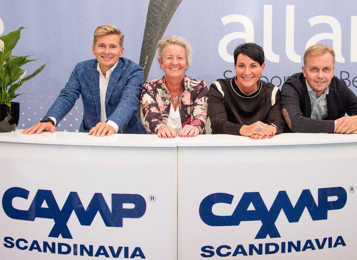 Camp Scandinavian johtoryhma